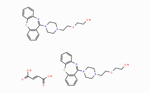 MC34376 | 111974-69-7 | クエチアピンヘミフマル酸塩