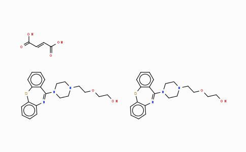 111974-72-2 | クエチアピンヘミフマル酸塩