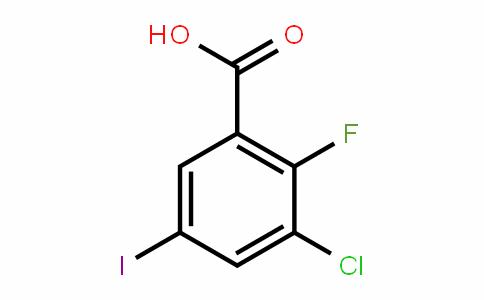 DY446831 | 1000162-09-3 | 3-Chloro-2-fluoro-5-iodobenzoic acid