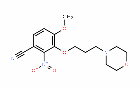 1006378-06-8 | 4-methoxy-3-(3-morpholinopropoxy)-2-nitrobenzonitrile