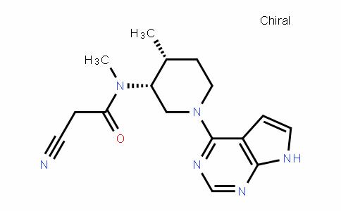 1092578-43-2 | 2-cyano-N-methyl-N-((3R,4R)-4-methyl-1-(7H-pyrrolo[2,3-d] pyrimidin-4-yl)piperidin-3-yl)acetamide
