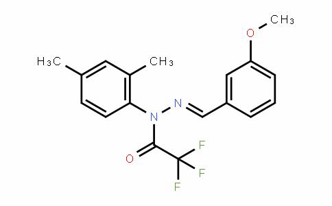 MC445642 | 1146963-51-0 | 2,2,2-三氟乙酸 1-(2,4-二甲基苯基)-2-[(3-甲氧基苯基)亚甲基]酰肼