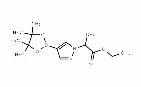 MC445725 | 1220968-24-0 | 2-(4-(4,4,5,5-四甲基-1,3,2-二氧硼杂环戊烷-2-基)-1H-吡唑-1-基)丙酸乙酯