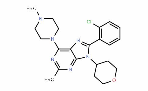MC445604 | 1231220-79-3 | 8-(2-Chlorophenyl)-2-methyl-6-(4-methylpiperazin-1-yl)-9-(tetrahydro-2H-pyran-4-yl)-9H-purine