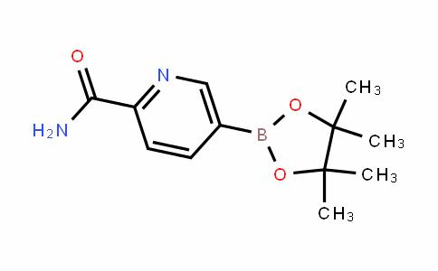 MC445674 | 1257553-74-4 | 5-(4,4,5,5-Tetramethyl-1,3,2-dioxaborolan-2-yl)picolinamide