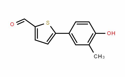 MC445672 | 1261976-11-7 | 4-(5-Formylthiophen-2-yl)-2-methylphenol