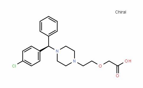 CAS No. 130018-77-8, 2-[2-[4-[(R)-(4-chlorophenyl)-phenylmethyl]piperazin-1-yl]ethoxy]acetic acid