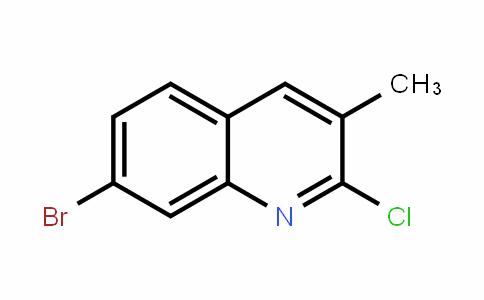132118-47-9 | 7-溴-2-氯-3-甲基喹啉