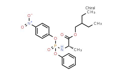 DY585207 | 1354823-37-2 | (S)-2-Ethylbutyl 2-(((R)-(4-nitrophenoxy)(phenoxy)phosphoryl)amino)propanoate