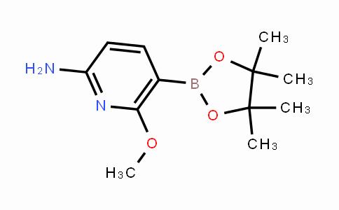 1375708-04-5 | 6-methoxy-5-(4,4,5,5-tetramethyl-1,3,2-dioxaborolan-2-yl)pyridin-2-amine