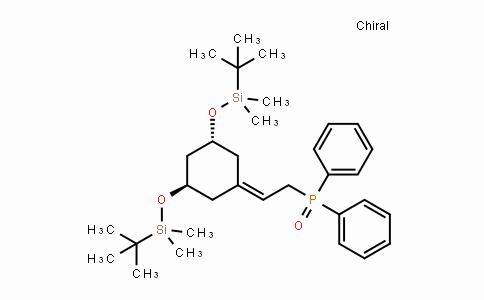 139356-39-1 | (2-((3R,5R)-3,5-bis((tert-butyldimethylsilyl)oxy)cyclohexylidene) ethyl)diphenylphosphine oxide