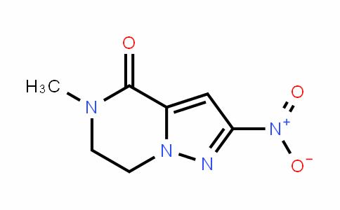 DY445691 | 1408327-48-9 | 5-Methyl-2-nitro-6,7-dihydropyrazolo[1,5-a]pyrazin-4(5H)-one