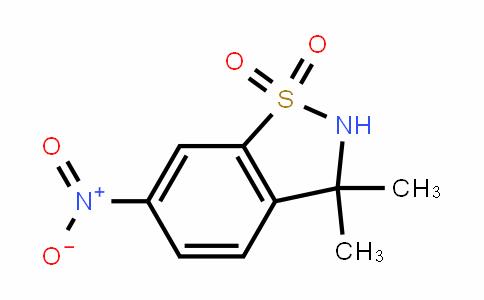 MC454360 | 140837-70-3 | 3,3-Dimethyl-6-nitro-2,3-dihydro-benzo[d]isothiazole 1,1-dioxide