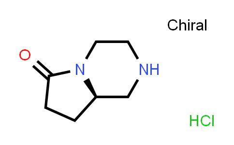 DY584027 | 1429238-55-0 | (R)-Hexahydro-pyrrolo[1,2-a]pyrazin-6-one hydrochloride