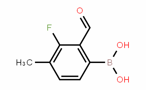 1451391-40-4 | 3-Fluoro-2-formyl-4-methylphenylboronic acid