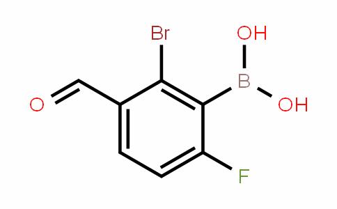 1451392-81-6 | 2-Bromo-6-fluoro-3-formylphenylboronic acid