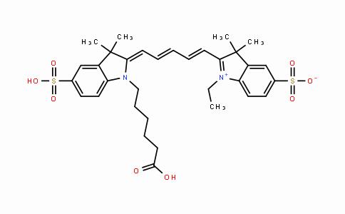 DY445389 | 146368-11-8 | Sulfo-Cy5-acid