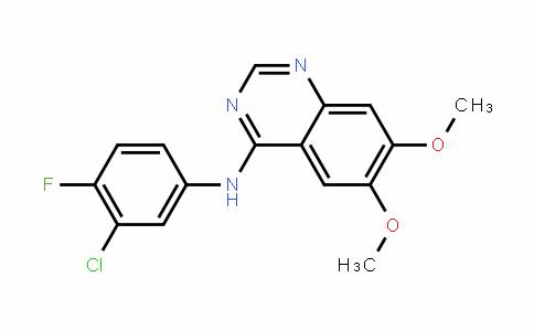 MC445592 | 153437-78-6 | N-(3-chloro-4-fluorophenyl)-6,7-dimethoxyquinazolin-4-amine