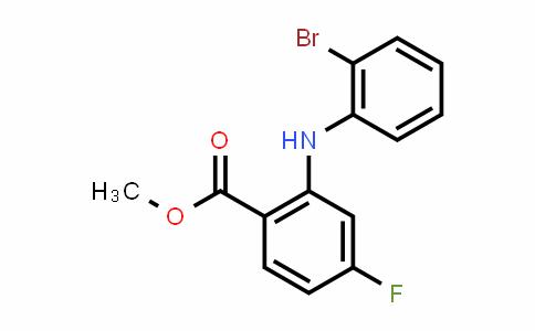 DY461396 | Methyl 2-((2-bromophenyl)amino)-4-fluorobenzoate