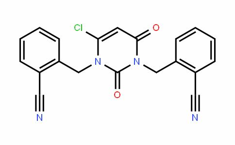 1618644-29-3 | 2,2'-((6-chloro-2,4-dioxopyrimidine-1,3(2H,4H)-diyl)bis (methylene))dibenzonitrile
