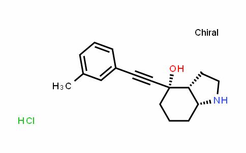 DY583863 | 1668604-07-6 | 1H-Indol-4-ol, octahydro-4-[2-(3-methylphenyl)ethynyl]-, (3aR,4S,7aR)- hydrochloride
