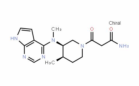 1675248-19-7 | 3-((3R,4R)-4-methyl-3-(methyl(7H-pyrrolo[2,3-d]pyrimidin-4-yl) amino)piperidin-1-yl)-3-oxopropanamide
