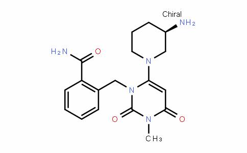 1820685-30-0 | (R)-2-((6-(3-aminopiperidin-1-yl)-3-methyl-2,4-dioxo-3,4- dihydropyrimidin-1(2H)-yl)methyl)benzamide