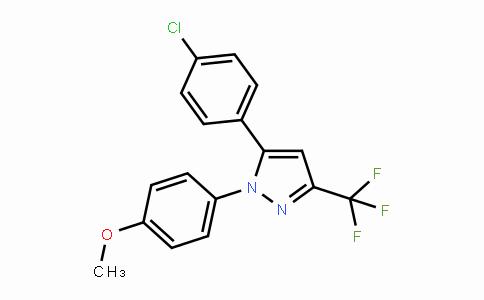 MC445421 | 188817-13-2 | 5-(4-氯苯基)-1-(4-甲氧基苯基)-3-(三氟甲基)-1H-吡唑