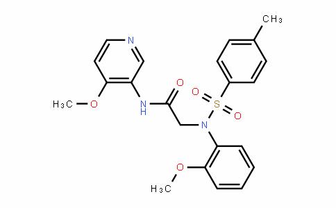 DY445644 | 1890208-58-8 | 2-[(2-methoxyphenyl)[(4-methylphenyl)sulfonyl]amino]-N-(4-methoxy-3-pyridinyl)acetamide