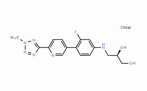 2044709-71-7 | (R)-3-((3-fluoro-4-(6-(2-methyl-2H-tetrazol-5-yl)pyridin-3-yl) phenyl)amino)propane-1,2-diol