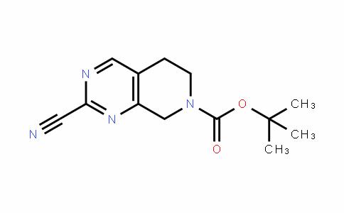 2115350-13-3 | Tert-butyl 2-cyano-5,6-dihydropyrido[3,4-d]pyrimidine-7(8H)-carboxylate