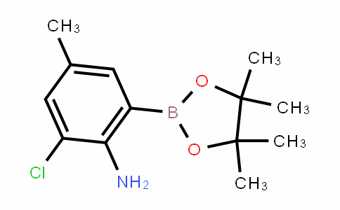 MC451305 | 2121513-87-7 | 2-Amino-3-chloro-5-methylphenylboronic acid pinacol ester