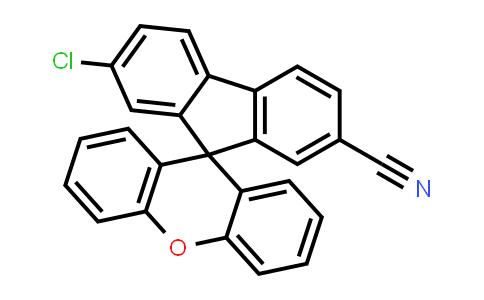DY583887 | 2259843-42-8 | 7-Chloro-spiro[9H-fluorene-9,9'-[9H]xanthene]-2-carbonitrile
