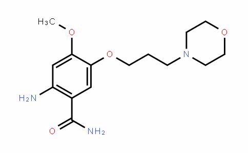 MC445587 | 246512-44-7 | 2-amino-4-methoxy-5-(3-morpholinopropoxy)benzamide