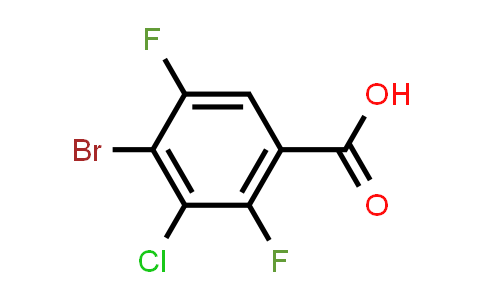 DY583899 | 2487480-03-3 | 4-Bromo-3-chloro-2,5-difluorobenzoic acid