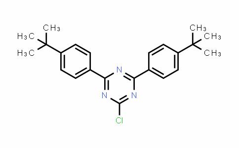 DY583832 | 253158-13-3 | 2,4-Bis(4-(tert-butyl)phenyl)-6-chloro-1,3,5-triazine