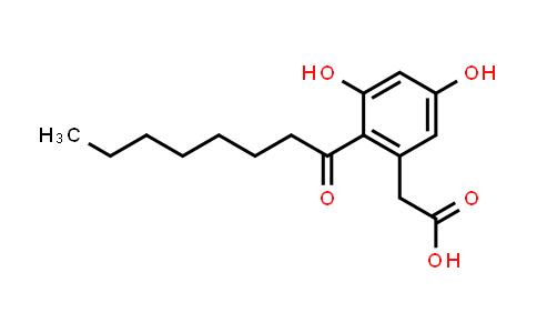DY585194 | 321661-61-4 | 2-(3,5-Dihydroxy-2-octanoylphenyl)acetic acid