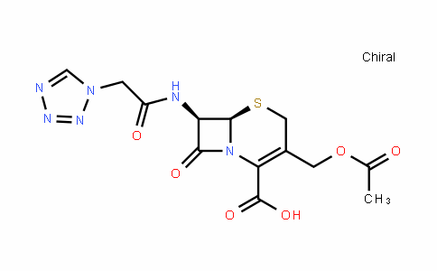 32510-61-5 | (6R,7R)-7-(2-(1H-tetrazol-1-yl)acetamido)-3-(acetoxymethyl)-8-oxo-5-thia-1-azabicyclo[4.2.0]oct-2-ene-2-carboxylic acid