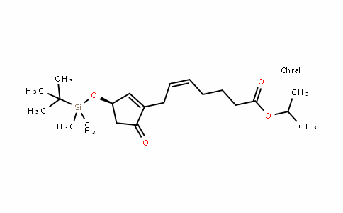 MC454371 | 474944-36-0 | (R,Z)-isopropyl 7-(3-(tert-butyldimethylsilyloxy)-5-oxocyclopent-1-enyl)hept-5-enoate