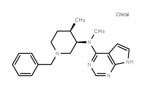 477600-73-0 | N-((3R,4R)-1-benzyl-4-methylpiperidin-3-yl)-N-methyl-7H- pyrrolo[2,3-d]pyrimidin-4-amine