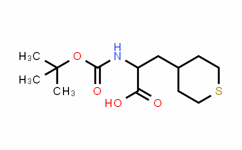 MC456784 | 494210-67-2 | 2-N-Boc-Amino-3-(4-tetrahydrothiopyranyl)propionic acid
