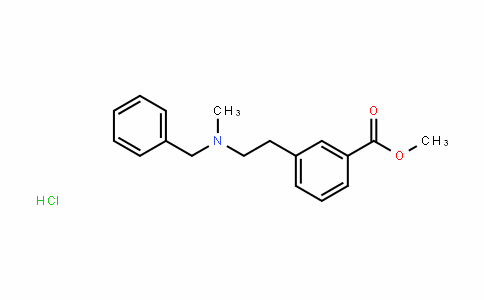 51352-87-5 | Methyl 3-(2-(benzyl(methyl)amino)ethyl)benzoate hydrochloride