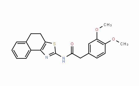 557782-81-7 | N-(4,5-dihydronaphtho[1,2-d]thiazol-2-yl)-2-(3,4-dimethoxyphenyl)acetamide