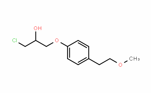 MC445494 | 56718-76-4 | 1-chloro-3-(4-(2-methoxyethyl)phenoxy)propan-2-ol
