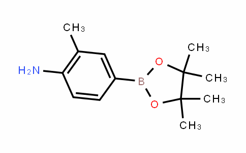 MC445704 | 590418-05-6 | 2-甲基-4-(4,4,5,5-四甲基-1,3,2-二氧杂环戊硼烷-2-基)苯胺