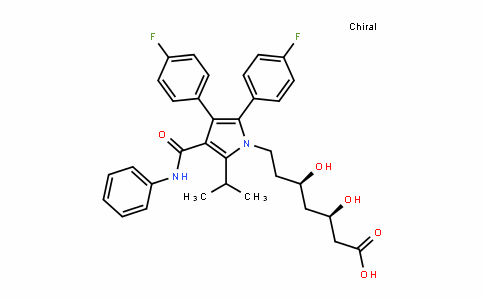 693794-20-6 | (3R,5R)-7-(2,3-bis(4-fluorophenyl)-5-isopropyl-4-(phenylcarbamoyl)-1H-pyrrol-1-yl)-3,5-dihydroxyheptanoic acid