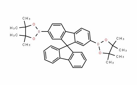 728911-52-2 | 2,7-Bis(4,4,5,5-tetramethyl-1,3,2-dioxaborolan-2-yl)-9,9'-spirobi[9H-fluorene]