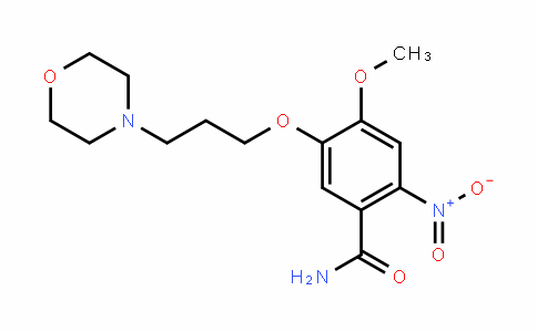 861453-16-9 | 4-methoxy-5-(3-morpholinopropoxy)-2-nitrobenzamide