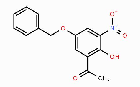 861841-94-3 | 1-(5-(benzyloxy)-2-hydroxy-3-nitrophenyl)ethanone