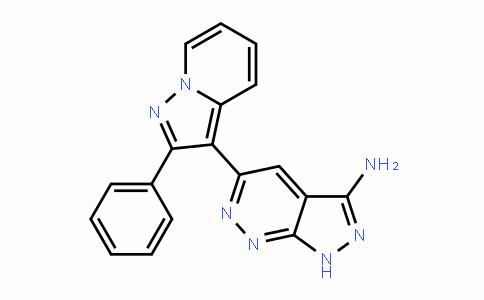 MC445439 | 865362-74-9 | 5-(2-苯基吡唑并[1,5-A]吡啶-3-基)-1H-吡唑并[3,4-C]哒嗪-3-胺